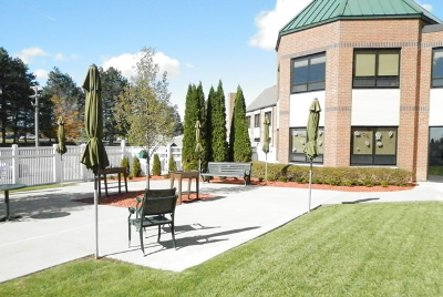 TCMCC Exterior Courtyard